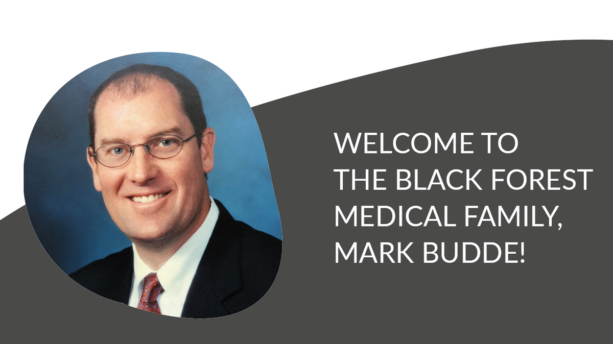 Mark Budde joins Black Forest Medical Group